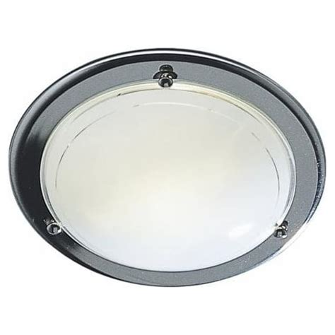 Small Flush Ceiling Lights by Dar Lighting Disc Dis5250 2d Chrome Small Flush Ceiling Light