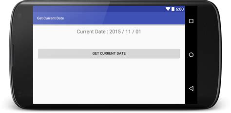 android date get current date in android programmatically viral android tutorials exles ux ui design