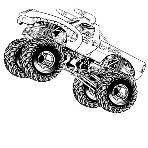hot wheels monster truck coloring pages hot wheels monster truck coloring pages children