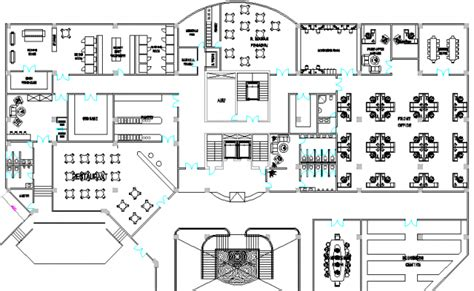 hotel floor plan dwg hotel layout plan with furniture detail