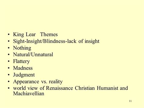 themes found in king lear king lear king lear author shakespeare culture english