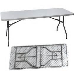 table de jardin pliante en plastique 183 cm achat