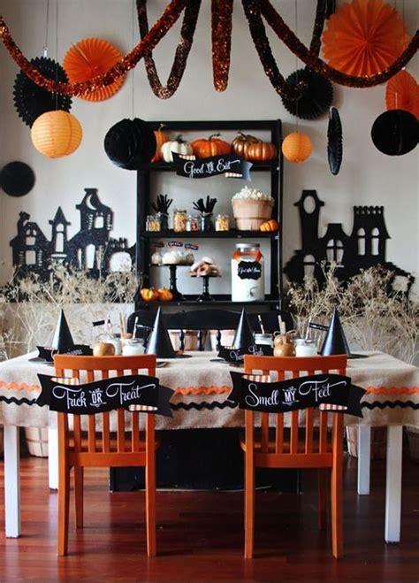 idees themes halloween party themed d 233 cor ideas for halloween