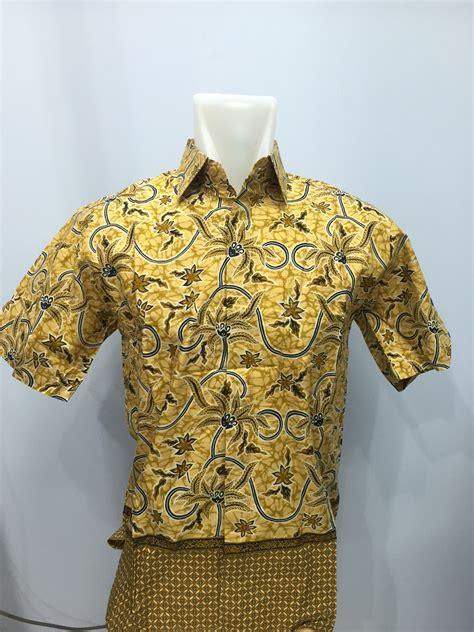 Batik Kemeja Batik Katun Halus Baju Batik 1 jual kemeja batik baturaden katun halus 100 keris kencana
