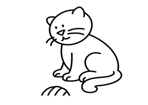 imagenes de gatitos faciles para dibujar imagenes de como dibujar un gato facil dibujos de gatos