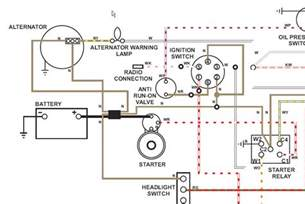 tr6 alternator wiring alternator free printable wiring diagrams
