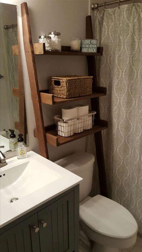 Bathroom Toilet Toppers 16 Diy Bathroom Storage Rack Made Of Used Goods Wartaku Net