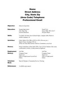 Resume Tips For Highschool Students With No Experience Doc 8541 Resume Samples For High School Students 56