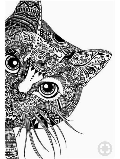 mandalas con animales 7 p pin de lucia nicolas en gatito pinterest gato