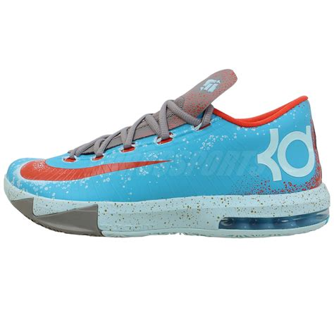 nike kd shoes nike kd vi 6 kevin durant maryland blue crab zoom air 2013