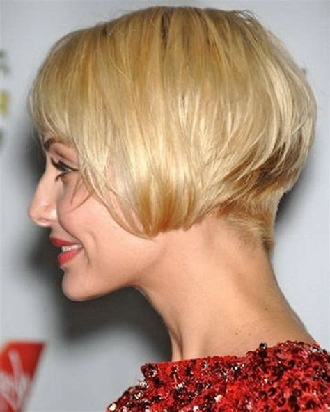 highly stacked hair short stacked bob haircuts with bangs life style by