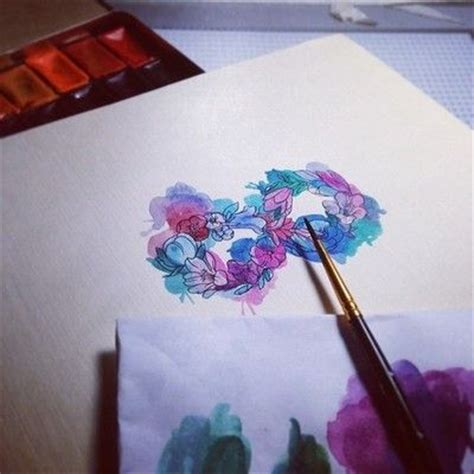 watercolor tattoo infinity 17 best images about inspiration on