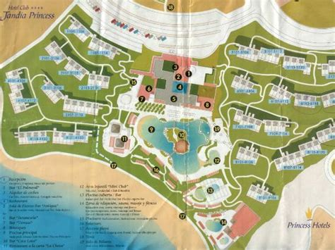 hotel del layout layout of hotel picture of club jandia princess playa