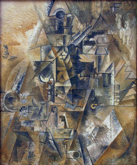 Biography Of Modern Artist | file pablo picasso 1911 clarinet still life with a