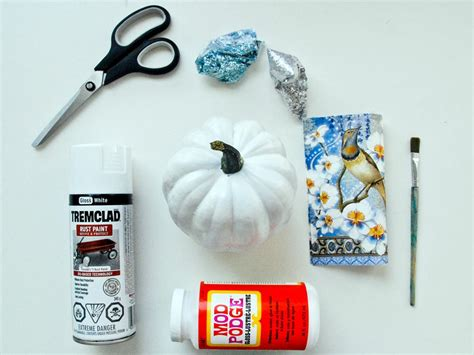 Materials For Decoupage - funky decoupage pumpkin hgtv