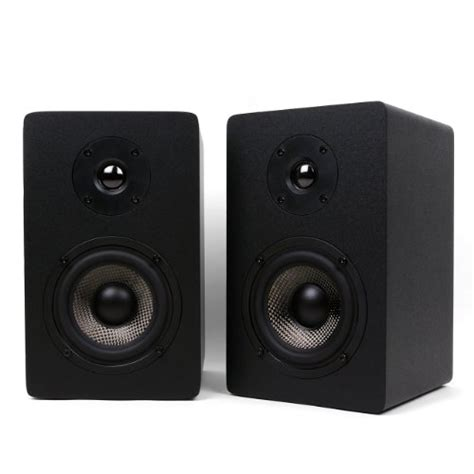 Stak Bookshelf Micca Mb42x Bookshelf Speakers With 4 Inch Carbon Fiber