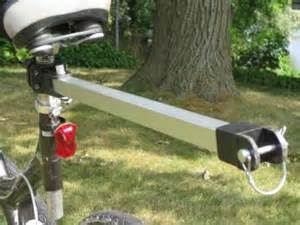 Canoe Towing Products Bar For Bicycle To Tow Kayak Or Canoe Wike Bicycle