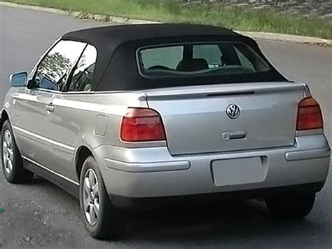 volkswagen convertible 2000 1995 2000 vw cabrio golf convertible top black twillfast
