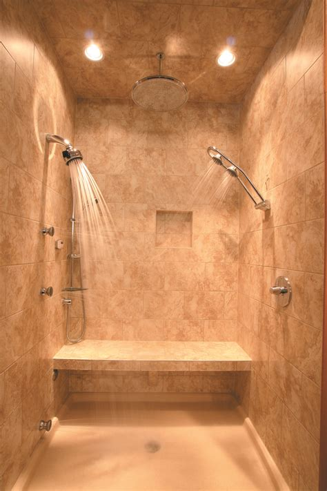 heated shower bench shower with heated floors yes to heated floors slab stone