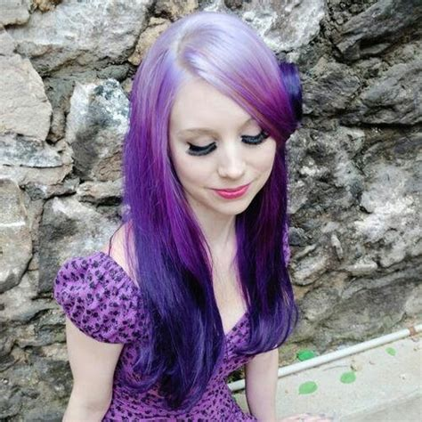 21 ombre hair colors you ll want immediately white to dark purple ombre hair hair and beauty