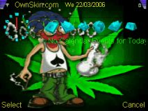 nokia c2 gif themes marijuana ganja animated mobile themes for nokia e5 00