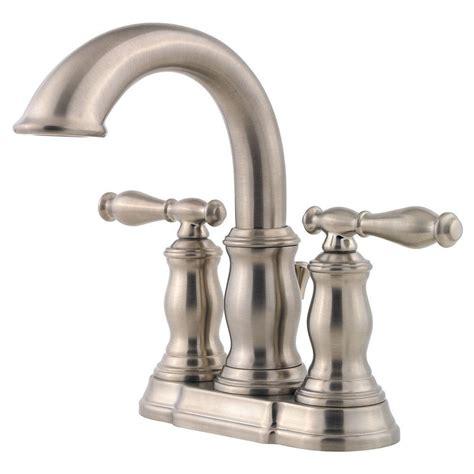 pfister 4 in centerset 2 handle bathroom faucet