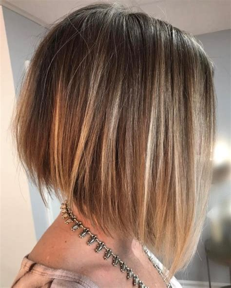 short angled haircuts for women ear showing 70 winning looks with bob haircuts for fine hair