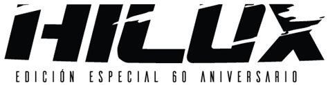 toyota hilux logo hilux 60 aniversario toyota costa rica