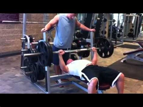 bench press sets and reps sheridan page bench press 225 for reps youtube