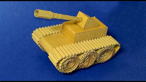 How To Make A Tank Out Of Paper - easy paper tank tank from an box