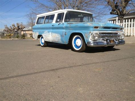 Sell Used 1963 Chevy Suburban C10 With Low Reserve