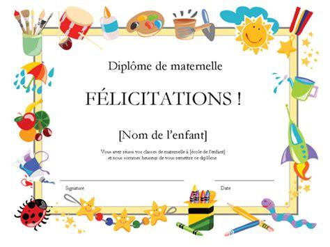 Lettre De Dérogation école Primaire dipl 244 me d 233 cole maternelle office templates
