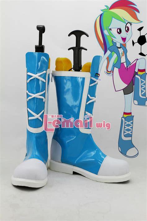 equestria shoes my ponytail equestria rainbow dash blue