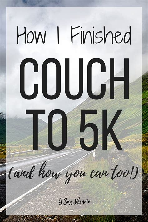 zombies run couch to 5k how i finished couch to 5k and how you can too i say