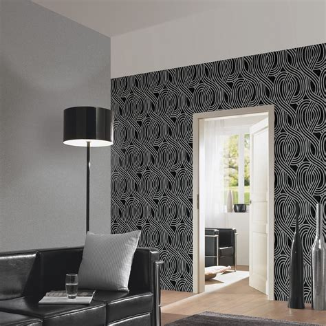 glitter wallpaper feature wall carat glitter wallpaper dark silver 13348 60 bedroom