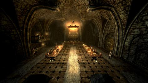 skyrim castle volkihar mod dawnguard castle volkihar without dirty things at skyrim