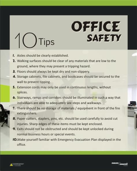 designer posters for workplace 5s quality safety