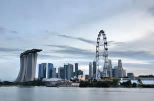 The wonderful skyline of singapore