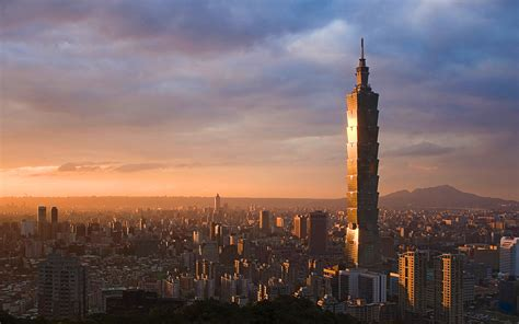 tower skyscraper taipei  wallpapers  images