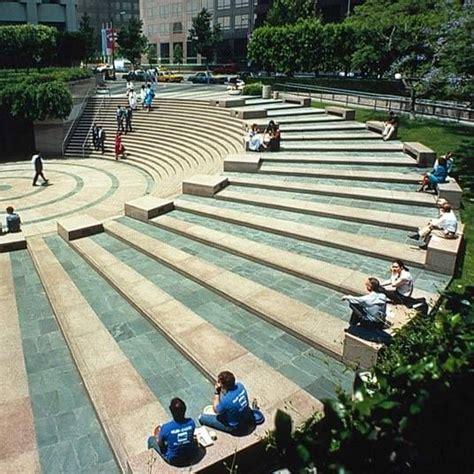 Landscape Design Vs Landscape Architecture Stepped Space Landscape Steps Level Change