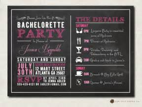 bachelorette invitation bachelorette invitation