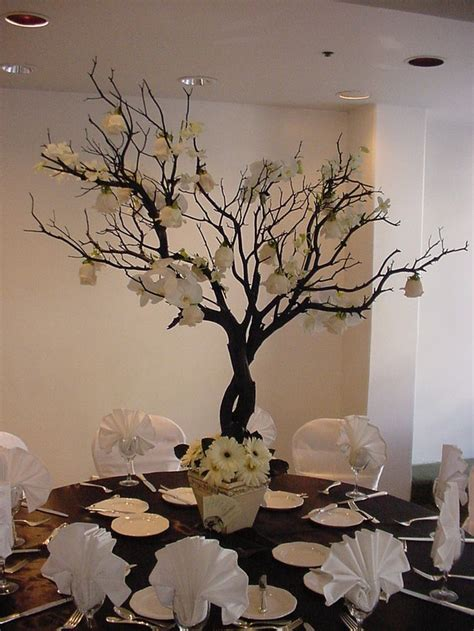 tree centerpieces ideas 25 best ideas about tree branch centerpieces on