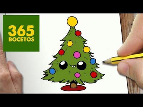 dibujos de navidad paso a paso como dibujar un 193 rbol de navidad paso a paso