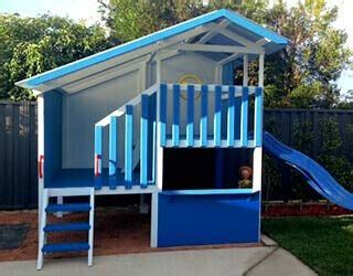 Free Easy Cubby House Plans Home Design And Style Simple Cubby House Plans