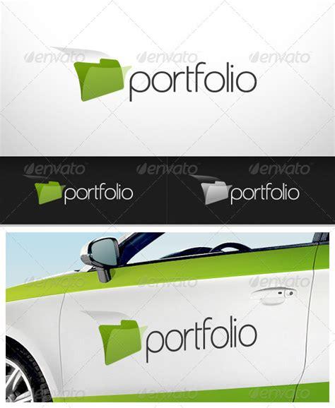 logo template graphicriver portfolio logo 2432101