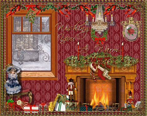christmas houses animated images gifs pictures animations