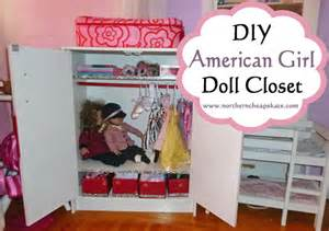 diy american doll closet