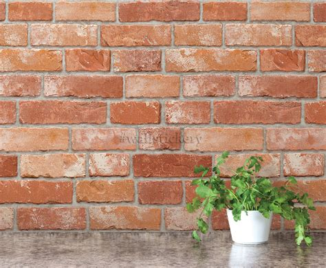 stick wall brick pattern contact paper prepasted wallpaper for wall
