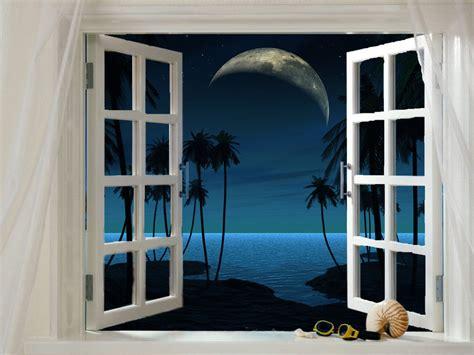 malam jendela pemindai langit