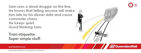 Queensland Rail Meme - image 352967 queensland rail etiquette posters know your meme